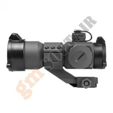 35mm Red-Green-Blue Dot Tube Reflex Optic Grigio