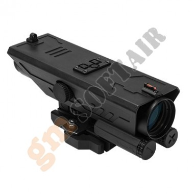DELTA 4X30 Scope w/White & Red NAV LED