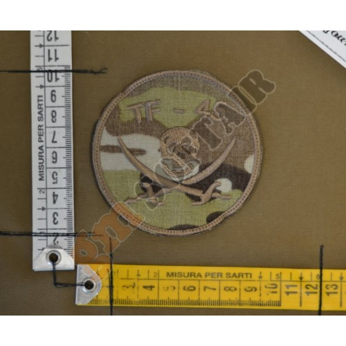 Patch Ricamata TF45 Jolly Roger Multicam