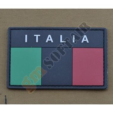 Patch PVC Bandiera Italia Bassa Visibilità