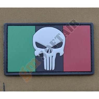 Patch PVC Bandiera Italia Punisher