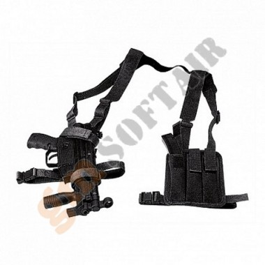 Fondina per Ingram M11A1 ed MP5 Nera