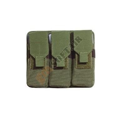 Porta caric. triplo M16/AR70/90 VERDE