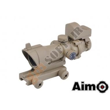 Acog 4X32 Scope con Mini Dot TAN