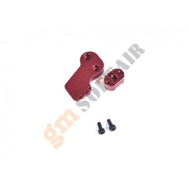 Leva Sgancio Caricatore M4/M16 Rossa