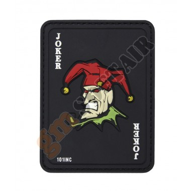 Patch 3D PVC Carta Joker