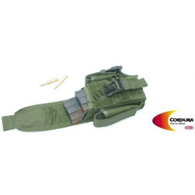 Rifle Mag Pouch with Flashlight / Knife Pouch