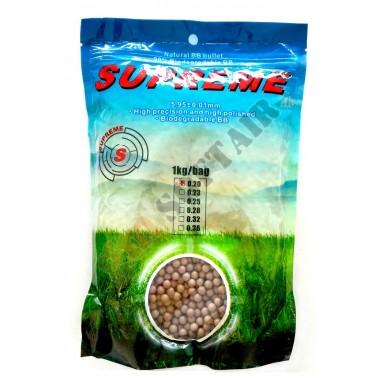 Busta da 1kg di 0.20g BIO Brown (SUPREME)