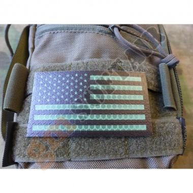 Patch IFF IR USA Verde