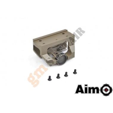 Low Drag Mount per Dot serie T Tan (AO1701 AIM-O)