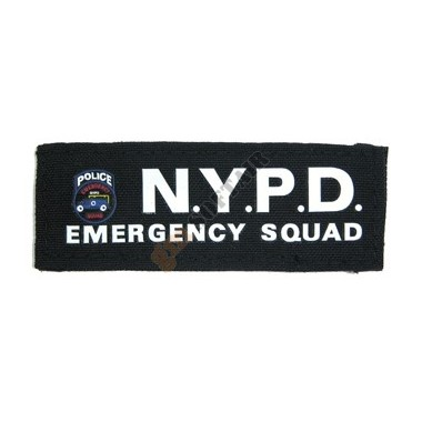 NYPD EMERGENCY Patch