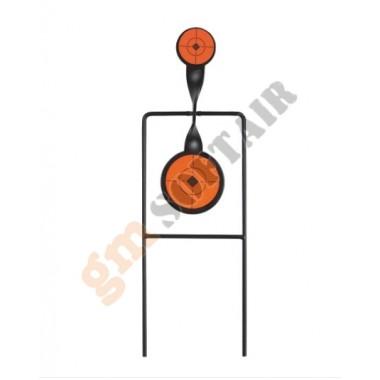 Two Paddle Spinner Target Metal