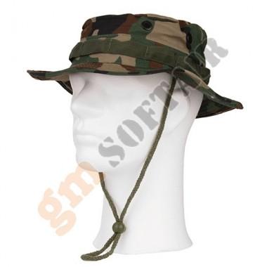 Boonie Hat Woodland tg.L