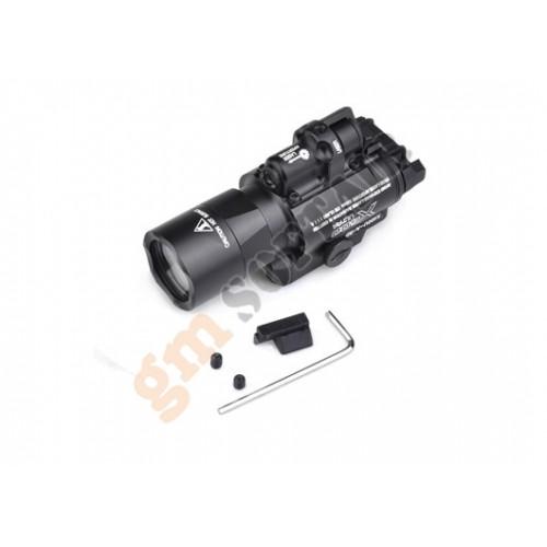 Torcia SF X400 Ultra Led con Laser Nera