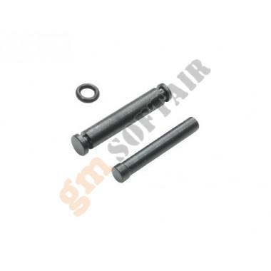 Steel Hammer & Sear Pins per Marui MEU