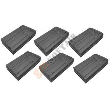 Set da 6 Caricatori Maggiorati per G3 da 500bb (P059M CLASSIC ARMY)
