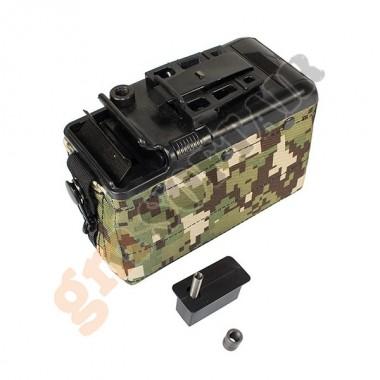 Caricatore Elettrico 1200 bb per M249 AOR2 (P252P-K CLASSIC ARMY)