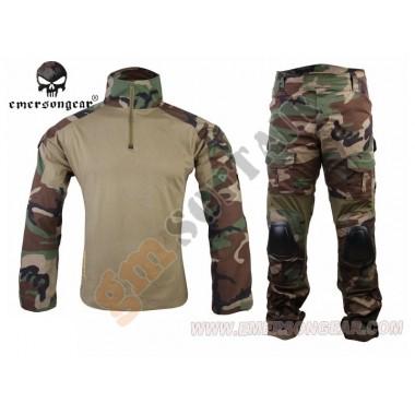 Complete Combat Suit Gen2 Woodland tg.S