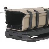 G-Code Style 9mm Pistol Magazine Pouch Nera