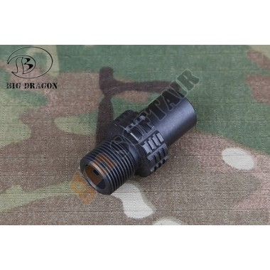 Adattatore Silenziatore MP7 da CW a CCW (BD3957 BIG DRAGON)