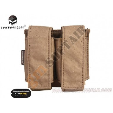 LBT Style 40mm Double Pouch Coyote Brown