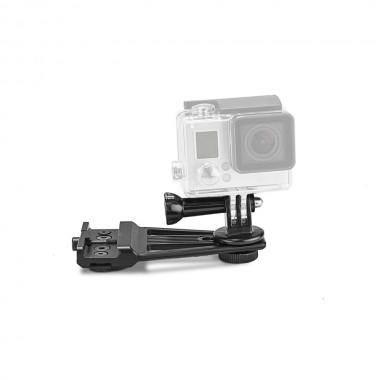 Staffa per Action Camera con Aggancio KeyMod, Picatinny e M-Lok
