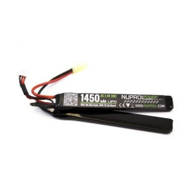 LiPo 7.4 x 1450 30C Crane