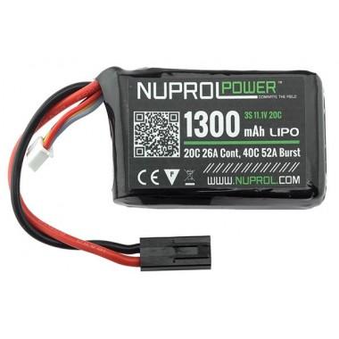 LiPo 11.1 x 1300 20C Peq