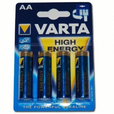Confezione da 4 Batterie Mini Stilo AA