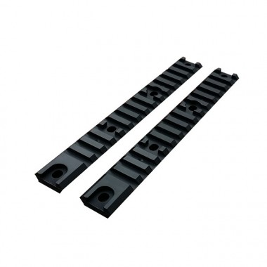2x Accessory Rail S per AM-013 / AM-014 Nere