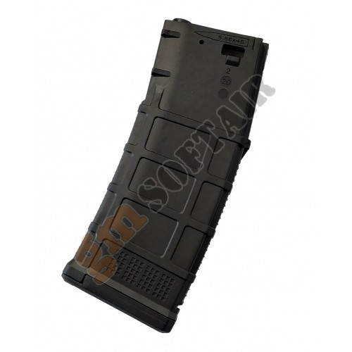 DMAG Variable Cap Magazine M4 130 - 30 bb Nero (MAG-MS-BK D-DAY)
