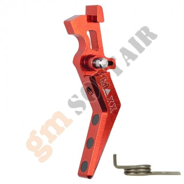 Advance Speed Trigger / Grilletto ROSSO Style A (MX-TRG001SAR MAXX MODEL)