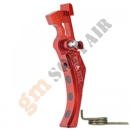 Advance Speed Trigger / Grilletto ROSSO Style D (MX-TRG001SDR MAXX MODEL)