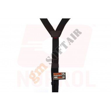SPALLACCI PMC Low Profile Harness Black (NU-6460 NUPROL)