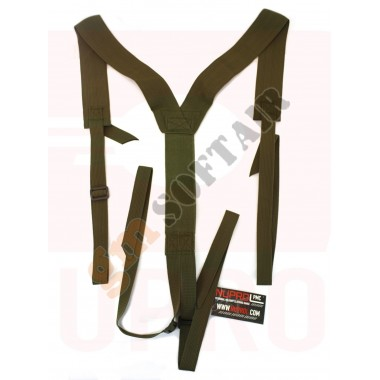 SPALLACCI PMC Low Profile Harness Green (NU-6461 NUPROL)
