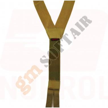 SPALLACCI PMC Low Profile Harness TAN (NU-6462 NUPROL)