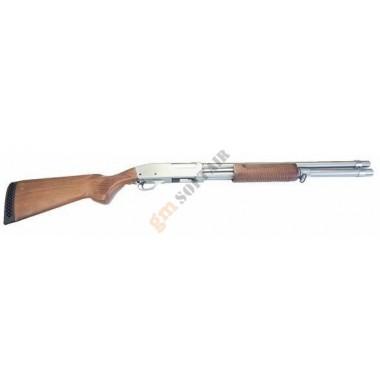 Fucile a Pompa M870 Lungo Silver / Legno (QL-M870LS)