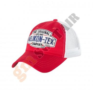 Trucker Logo Cap Mud Red/White (CZ-TLC-CT Helikon-Tex)