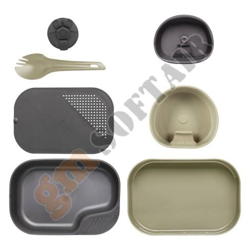 Wildo CAMP-A Box Complete Set Desert / Dark Grey A (SE-CAB-PP Helikon-Tex)
