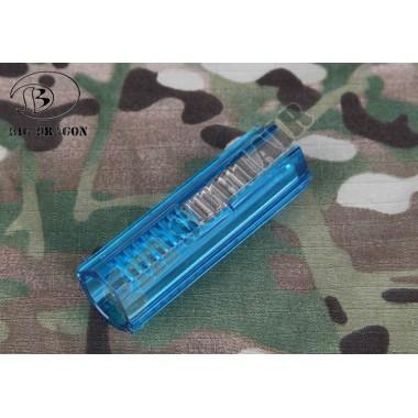 Pistone Azzurro con Metà Denti in Acciaio (BD1166 BIG DRAGON)
