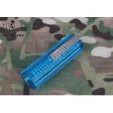 Pistone Azzurro con Metà Denti in Acciaio