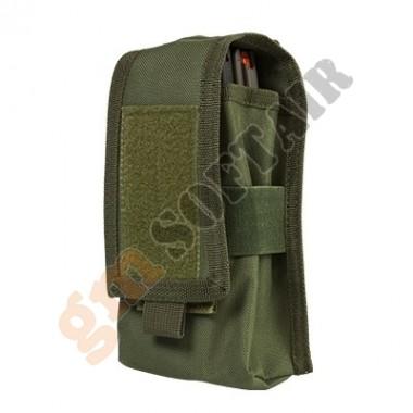 Porta Caricatore Doppio per M4/AK o Porta Radio - Verde (CV2MRP2972 Nc Star)