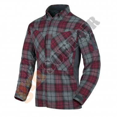 MBDU Flannel Shirt Ruby Plaid tg. XL (KO-MBD-PO Helikon-Tex)