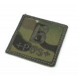 Patch B Positivo Multicam Ricamata