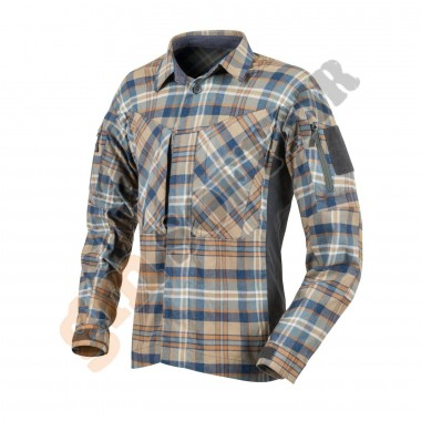 MBDU Flannel Shirt Ginger Plaid tg. L (KO-MBD-PO Helikon-Tex)