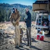 Gunfighter Jacket Shark Skin Windblocker Mud Brown tg. M (KU-GUN-FM Helikon-Tex)