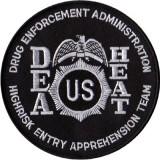 Patch nera D.E.A. HEAT