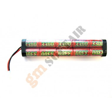 Batteria 12 x 3700 large NI-MH G.P
