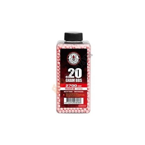 Bottiglia 0.20g Traccianti Red 2700bb (G-07-266 G&G)