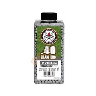 Bottiglia 0.40g BIO Grey 2700bb (G-07-269 G&G)